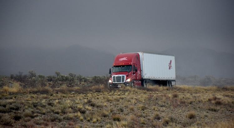 logística de carga e rastreio